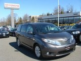 2011 Predawn Gray Mica Toyota Sienna Limited #79058735