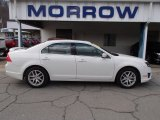 2010 White Platinum Tri-coat Metallic Ford Fusion SEL V6 AWD #79058529