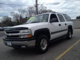 2001 Summit White Chevrolet Suburban 2500 LS 4x4 #79059049