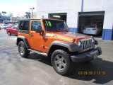 2010 Mango Tango Pearl Jeep Wrangler Sport Mountain Edition 4x4 #79059048