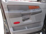 2007 Dodge Ram 3500 Laramie Mega Cab 4x4 Dually Door Panel