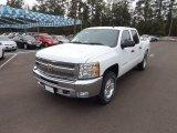 2013 Summit White Chevrolet Silverado 1500 LT Crew Cab 4x4 #79059021