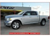 2012 Bright Silver Metallic Dodge Ram 1500 Lone Star Crew Cab #79058877