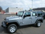 2013 Billet Silver Metallic Jeep Wrangler Unlimited Sport 4x4 #79058864