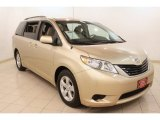 2011 Sandy Beach Metallic Toyota Sienna LE #79058982