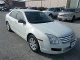 2008 White Suede Ford Fusion S #79126560