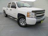 2008 Summit White Chevrolet Silverado 1500 LS Crew Cab #79126661