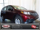 2013 Basque Red Pearl II Honda CR-V LX #79126513