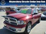 2010 Inferno Red Crystal Pearl Dodge Ram 1500 Big Horn Quad Cab 4x4 #79126648