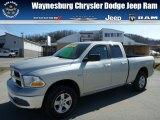 2010 Bright Silver Metallic Dodge Ram 1500 SLT Quad Cab 4x4 #79126644