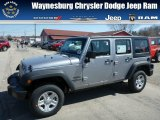 2013 Billet Silver Metallic Jeep Wrangler Unlimited Sport 4x4 #79126628