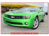 2010 Synergy Green Metallic Chevrolet Camaro LT Coupe Synergy Special Edition #79126688