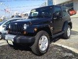 2012 Black Jeep Wrangler Sahara 4x4 #79158354