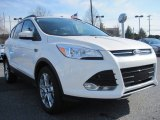 2013 White Platinum Metallic Tri-Coat Ford Escape SEL 2.0L EcoBoost 4WD #79158065