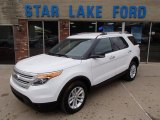 2013 Oxford White Ford Explorer XLT 4WD #79158249