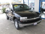 2000 Onyx Black Chevrolet Silverado 1500 Z71 Regular Cab 4x4 #79158327