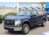 2011 Dark Blue Pearl Metallic Ford F150 XL Regular Cab #79158232