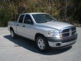 2008 Bright Silver Metallic Dodge Ram 1500 ST Quad Cab #79158226