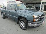 2007 Blue Granite Metallic Chevrolet Silverado 1500 Classic LS Extended Cab 4x4 #79158024