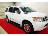 2012 Blizzard White Nissan Armada Platinum #79157825