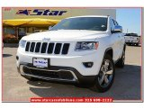 2014 Bright White Jeep Grand Cherokee Limited #79158020