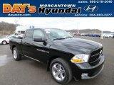 2012 Black Dodge Ram 1500 ST Quad Cab 4x4 #79158216