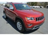 2014 Deep Cherry Red Crystal Pearl Jeep Grand Cherokee Limited 4x4 #79158105