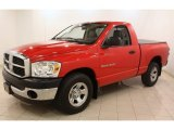 2007 Dodge Ram 1500 Flame Red