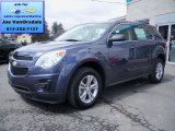 2013 Atlantis Blue Metallic Chevrolet Equinox LS AWD #79157793