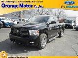 2012 Black Dodge Ram 1500 Sport Quad Cab 4x4 #79157903