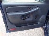 2001 Chevrolet Silverado 1500 LS Regular Cab Door Panel