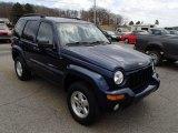 2002 Patriot Blue Pearlcoat Jeep Liberty Limited 4x4 #79200240