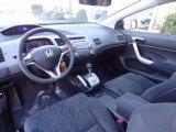 2007 Honda Civic EX Coupe Black Interior
