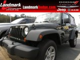 2011 Natural Green Pearl Jeep Wrangler Sport 4x4 #79200215