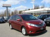 2011 Salsa Red Pearl Toyota Sienna Limited AWD #79200337