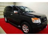 Galaxy Black Nissan Armada in 2012