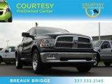 2012 Black Dodge Ram 1500 Laramie Crew Cab #79200640