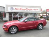 2006 Redfire Metallic Ford Mustang GT Premium Convertible #79200481