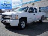 2009 Summit White Chevrolet Silverado 1500 LT Extended Cab 4x4 #79200032