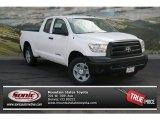 2013 Super White Toyota Tundra Double Cab 4x4 #79199882