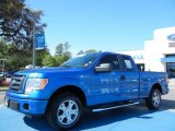 2010 Blue Flame Metallic Ford F150 STX SuperCab #79200138