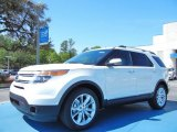 2013 White Platinum Tri-Coat Ford Explorer Limited EcoBoost #79200132