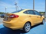 2013 Ford Fiesta Yellow Blaze