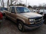 2005 Sandstone Metallic Chevrolet Silverado 1500 LS Extended Cab 4x4 #79200012