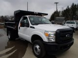 Oxford White Ford F350 Super Duty in 2013