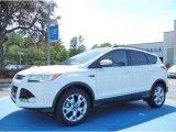 2013 White Platinum Metallic Tri-Coat Ford Escape SEL 1.6L EcoBoost #79200122