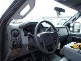 2013 Ford F350 Super Duty XL Regular Cab 4x4 Dump Truck Dashboard