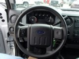 2013 Ford F350 Super Duty XL Regular Cab 4x4 Dump Truck Steering Wheel
