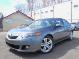 2010 Polished Metal Metallic Acura TSX V6 Sedan #79200302