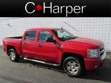 2007 Victory Red Chevrolet Silverado 1500 LT Z71 Crew Cab 4x4 #79200606